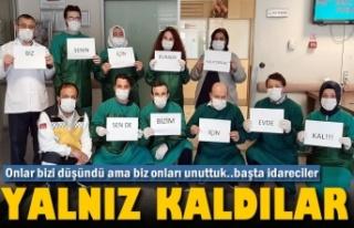 Tosya'da Sağlık Çalışanları Yalnız mı...