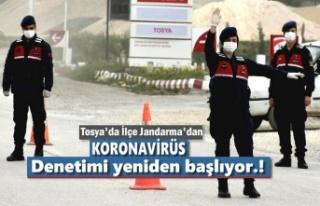 Tosya'da Son Dakika Gelişmesi Jandarma Denetime...