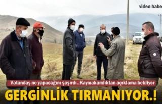 Tosya'da vatandaşın tepkisi ve sinir harbi