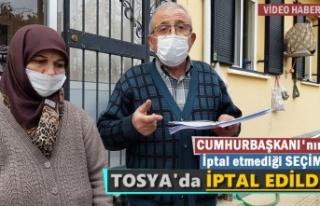 TOSYA SULUCA KÖYÜNDE REFERANDUM İPTAL EDİLEMEZ
