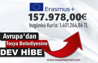 Avrupa Birliğinden Tosya Belediye Başkanlığına...