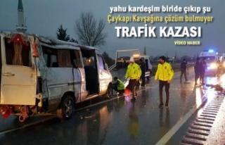 YETER ARTIK - ÇAYKAPI KAVŞAĞI TRAFİK KAZASI