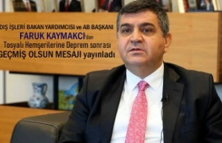 DIŞİŞLERİ BAKAN YARDIMCISI FARUK KAYMAKCI'DAN...