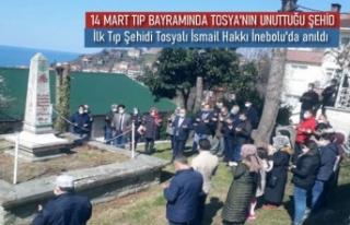 14 MART TIP BAYRAMINDA İLK TIP ŞEHİDİ TOSYA'DA...