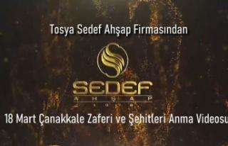 Tosya Sedef Ahşap Firmasından muhteşem Çanakkale...