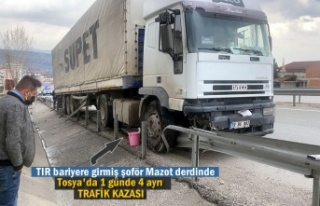 Tosya D100'de 1 Günde 4 Ayrı Trafik Kazası