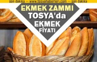 TOSYA'DA BAYRAM ÖNCESİ EKMEK ZAMMI