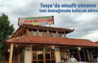 Tosya'da Lezzetin Keyifle Buluştuğu Mekan ''Recep...