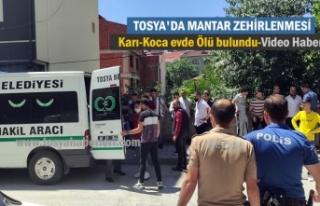 Tosya'da Mantar Zehirlenmesinde 2 kişi Hayatını...