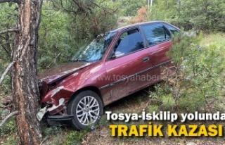 TOSYA-İSKİLİP YOLUNDA TRAFİK KAZASI