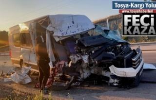 Tosya - Kargı yolunda Trafik Kazası