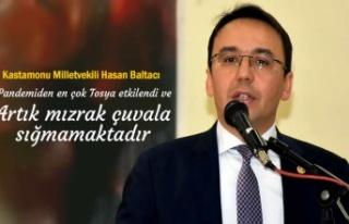 KASTAMONU MİLLETVEKİLİ HASAN BALTACI TOSYA'DA