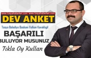 TOSYA BELEDİYE BAŞKANI VOLKAN KAVAKLIGİL BAŞARILI...
