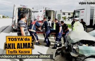 TOSYA D100'DE CAN PAZARI YAŞANDI