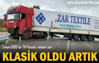 TOSYA D100 KARAYOLUNDA TIR KAZASI