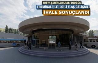 TOSYA ŞEHİRLERARASI OTOBÜS TERMİNALİNDE FLAŞ...