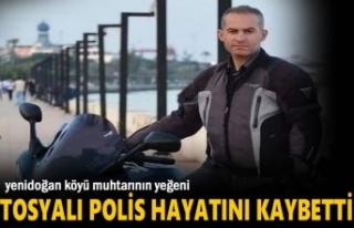 TOSYALI POLİS MOTOSİKLET KAZASINDA HAYATINI KAYBETTİ