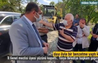 VATANDAŞIN BENZETMESİ KARŞISINDA NE SÖYLECEKLERİNİ...