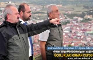 ORMAN BÖLGE MÜDÜRÜ TOSYA'DA ANA GÜNDEM ÜÇOLUKLARI...