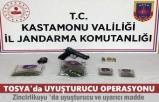 TOSYA'DA UYUŞTURUCU OPERASYONU DEVAM EDİYOR