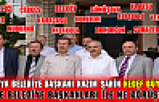 Bölgesel Belediye Başkanları Toplantısı Tosya'da...