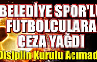 Futbolculara Disiplin Kurulu Ceza Yağdırdı
