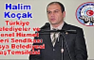 Halim Koçak Türkiye Belediyeler ve Genel Hizmet...