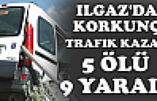 Ilgaz'da Korkunç Trafik Kazası