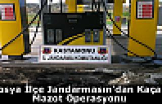 Jandarma'dan Kaçak Mazot Operasyonu
