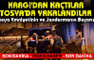 Kargı'dan Kaçan Hırsızlar Tosya'da YAKALANDILAR