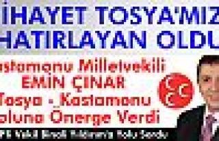 Kastamonu Millet Vekili Emin Çınar Tosya-Kastamonu...