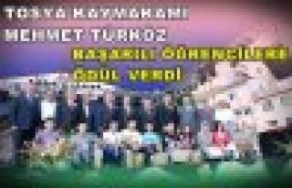 Kaymakam Türköz Başarılı Öğrencileri Festivalde...