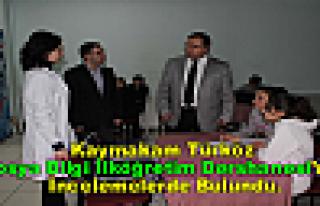 Kaymakam Türköz,'' Tosya Bilgi İlköğretim...