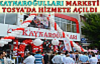Kaynaroğulları Market Açıldı