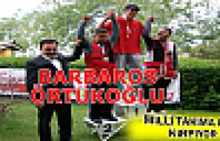 Salih Barbaros Örtükoğlu Türkiye İkincisi oldu.
