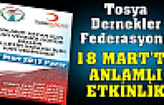 TODEF 18 MART'TA ANLAMLI ETKİNLİK