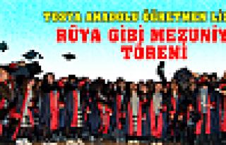 Tosya Anadolu Öğretmen Lisesi'nde mezuniyet töreni...