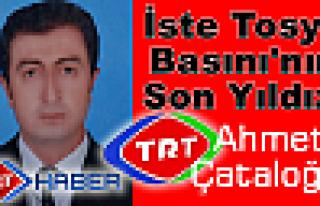 Tosya Basının Yeni Yıldızı TRT Muhabiri Ahmet...