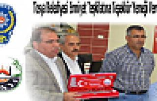 Tosya Belediyesi İlçe Emniyet Teşkilatına Teşekkür...