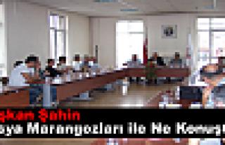 Tosya Belediyesi Marangoz Esnafı İle İstişare...