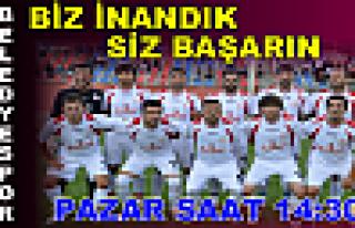 Tosya BelediyeSpor ve Taraftarlar Maça Hazır..