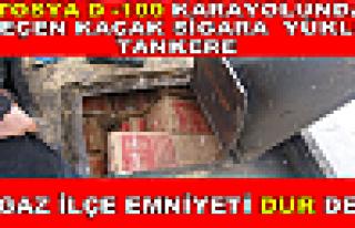 TOSYA D-100 DEN GEÇEN SİGARA KAÇAKÇILARI YAKALANDI