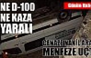 Tosya D-100 Durmak Bilmiyor - Cenaze Aracı Menfeze...