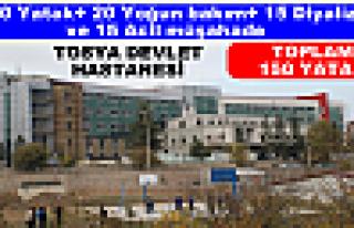 Tosya Devlet HastanesiYatak Sayısı : 150
