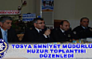 TOSYA EMNİYET MÜDÜRLÜĞÜ POLİS HAFTASINDA HUZUR...