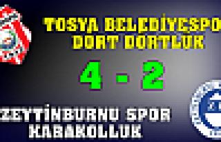 TOSYA HAFTAYI 4-2 GİBİ GÜZEL BİR GALİBİYETLE...