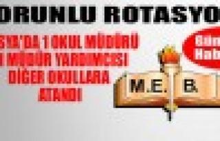 Tosya MEM'de 1 Okul Müdürü 11 Mdr. Yardımcısı...