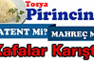 TOSYA PİRİNCİNE '' MARKA TESCİLMİ ALINIYOR...