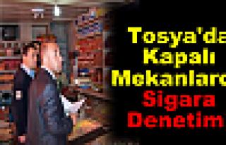 Tosya'da Kapalı Mekanlarda Sigara Denetimi