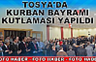 Tosya'da Kurban Bayramı Kutlamaları